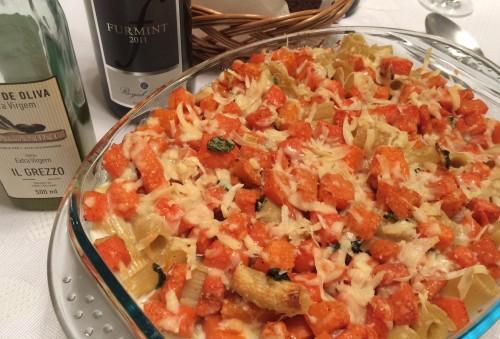 macarrão-de-forno-com-abóbora-hamonização-vinho
