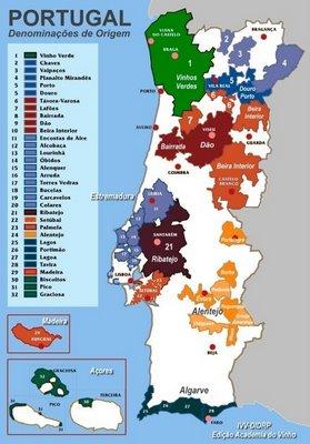 portugal-mapa-produção-vinícola