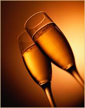 champagne celebrar a vida