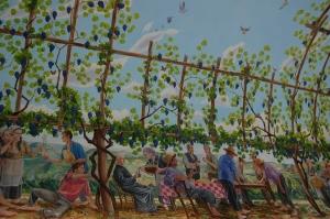 pintura sede vinícola salton