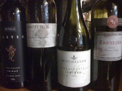 Vinhos Australianos Shirraz