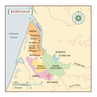 mapa-das-regiões-de-vinho-de-bordeaux
