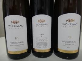 Herzogenberg Riesling, Weissburgunder e Spätburgunder  GG
