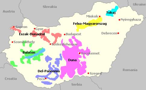 vinhos-da-hungria-regiões-vinícolas