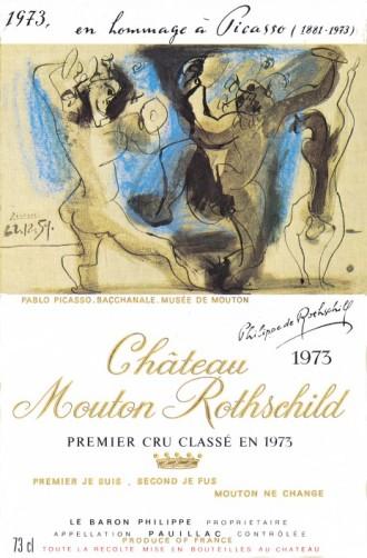 Etiquette-Mouton-Rothschild-1973-Premier-Cru-Classé