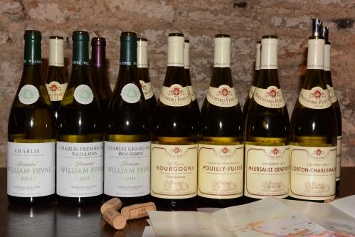 Degustação-de-vinhos-William-Fèvre-Chablis-Borgonha